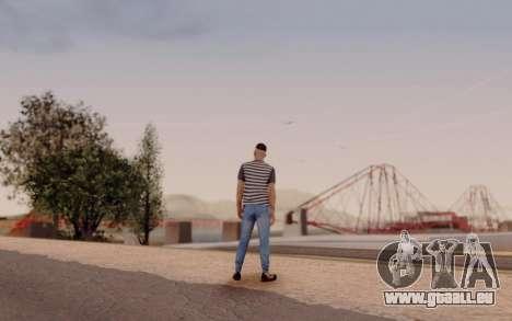 Warm Colors ENB pour GTA San Andreas cinquième écran