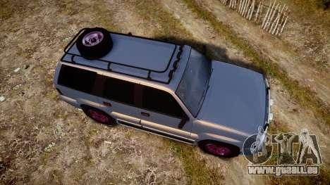 Albany Cavalcade Offroad 4X4 für GTA 4 rechte Ansicht