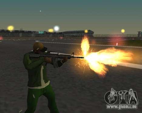 De beaux clichés à partir d'armes pour GTA San Andreas sixième écran