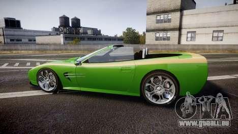 Invetero Coquette Roadster für GTA 4 linke Ansicht