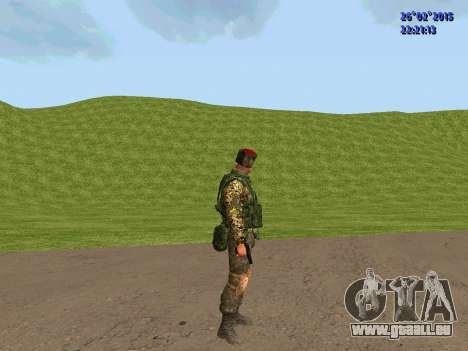 Cosaque Du Don pour GTA San Andreas sixième écran
