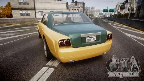 Enus Super Diamond 2 Colors pour GTA 4 Vue arrière de la gauche