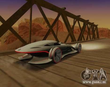 Mercedes-Benz Silver Arrows pour GTA San Andreas vue de droite