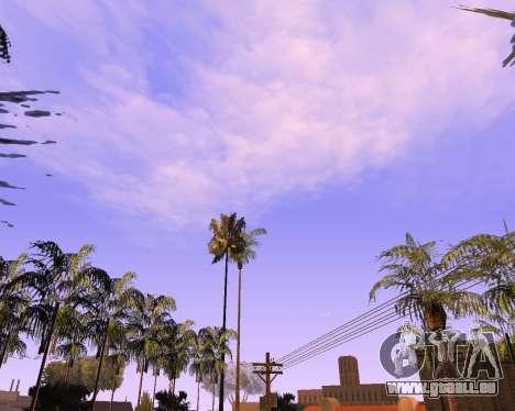 De nouveaux nuages et Colormod pour GTA San Andreas deuxième écran
