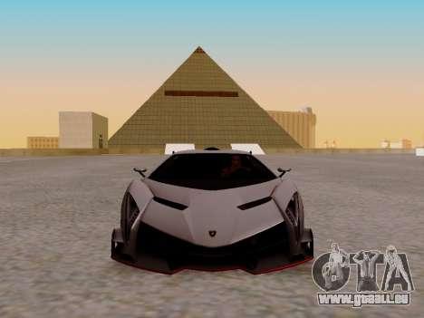 Lamborghini Veneno für GTA San Andreas linke Ansicht