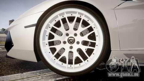 Lamborghini Aventador Hamann Limited 2014 [EPM] für GTA 4 Rückansicht