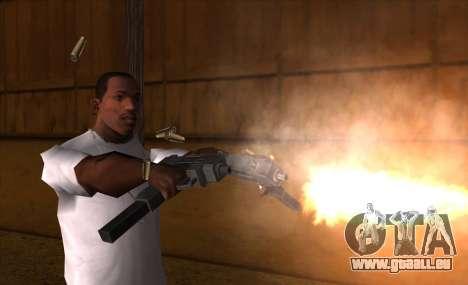 IMFX Gunflash pour GTA San Andreas troisième écran