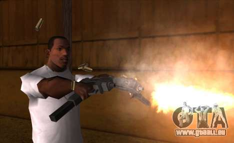 IMFX Gunflash für GTA San Andreas dritten Screenshot