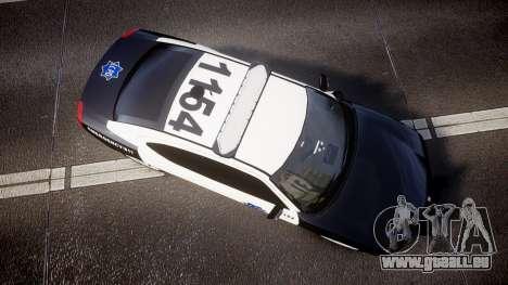 Dodge Charger 2010 LCPD [ELS] pour GTA 4 est un droit