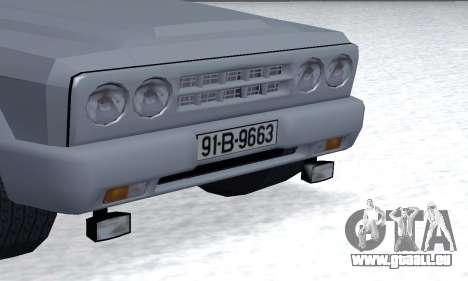 Aro 328 für GTA San Andreas Innenansicht