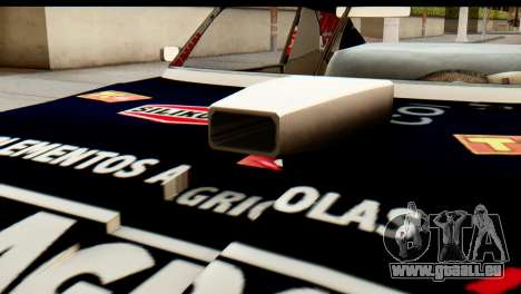 Chevrolet Series 2 Turismo Carretera Mouras pour GTA San Andreas vue arrière