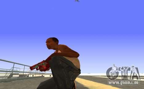 Glock-18 de l'eau de CS:GO pour GTA San Andreas deuxième écran