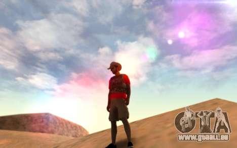 Warm Colors ENB pour GTA San Andreas deuxième écran
