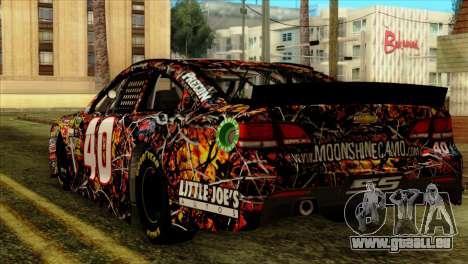 NASCAR Chevy SS 2013 für GTA San Andreas linke Ansicht