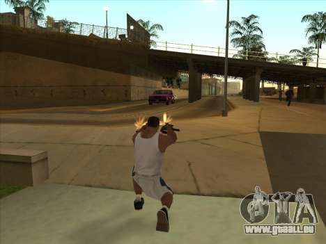 Russe pistolets-mitrailleurs pour GTA San Andreas cinquième écran