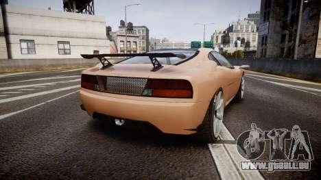 Grotti Turismo GT Carbon pour GTA 4 Vue arrière de la gauche