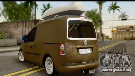 Volkswagen Caddy für GTA San Andreas linke Ansicht