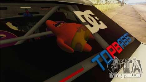 Elegy Undercover pour GTA San Andreas roue