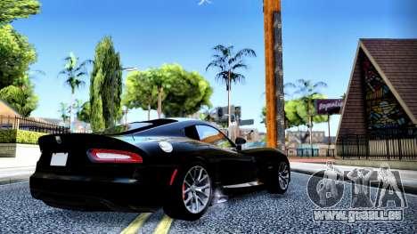ENB Chaux HD pour PC moyen pour GTA San Andreas deuxième écran