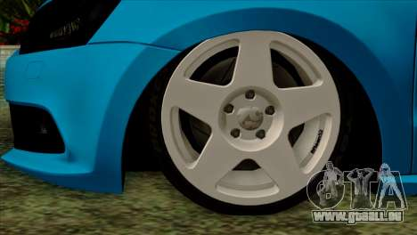 Volkswagen Polo GTI 2014 für GTA San Andreas zurück linke Ansicht