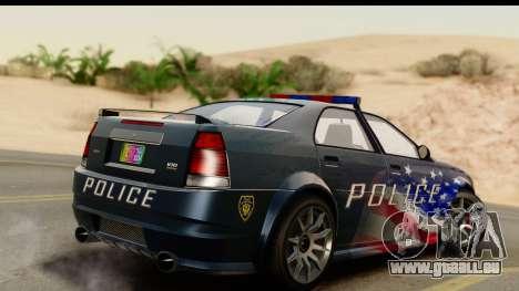 EFLC TBoGT Albany Police Stinger IVF für GTA San Andreas linke Ansicht