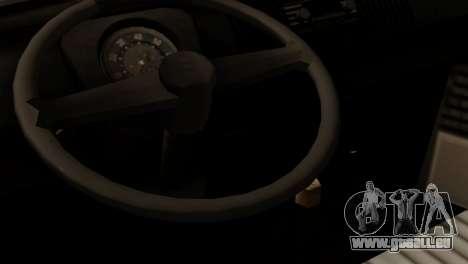 Volkswagen Type 2 für GTA San Andreas Rückansicht