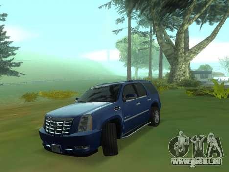 Le comportement réel de la machine v3.0 pour GTA San Andreas troisième écran