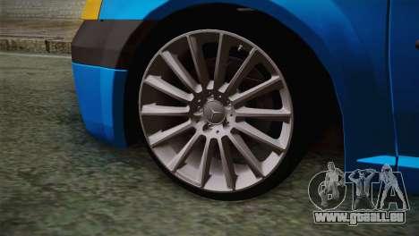 Dacia Logan 2006 pour GTA San Andreas sur la vue arrière gauche