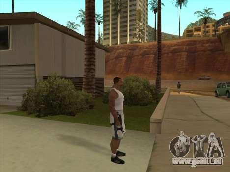 Russe pistolets-mitrailleurs pour GTA San Andreas sixième écran