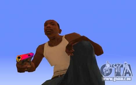 Glock-18 Farbverlauf CS:GO für GTA San Andreas zweiten Screenshot