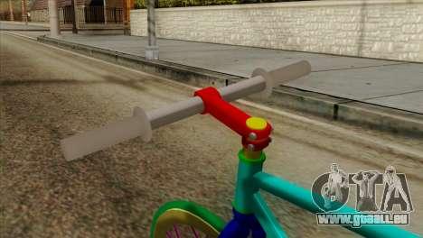 Itachari Shimakaze Kai pour GTA San Andreas vue de droite