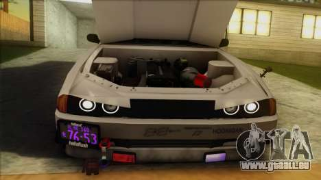 Elegy Undercover pour GTA San Andreas moteur
