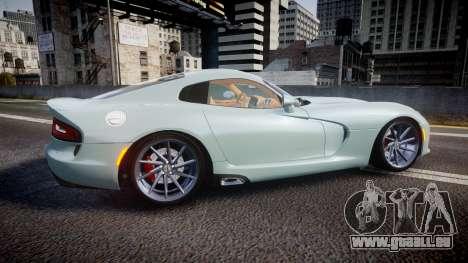 Dodge Viper SRT 2013 rims3 pour GTA 4 est une gauche