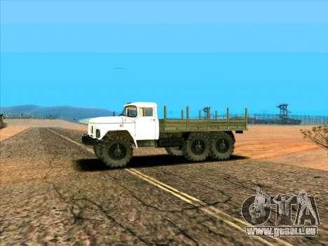ZIL 131 pour GTA San Andreas laissé vue