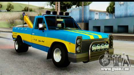 Nissan Junior 1982 Pickup Towtruck pour GTA San Andreas