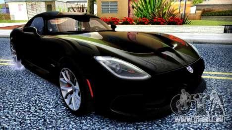ENB Chaux HD pour PC moyen pour GTA San Andreas