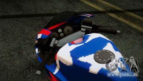 GTA 5 Bati American pour GTA San Andreas vue de droite