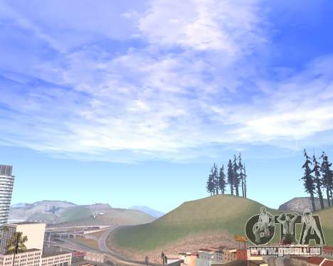 De nouveaux nuages et Colormod pour GTA San Andreas