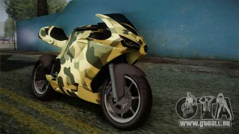GTA 5 Bati Green für GTA San Andreas