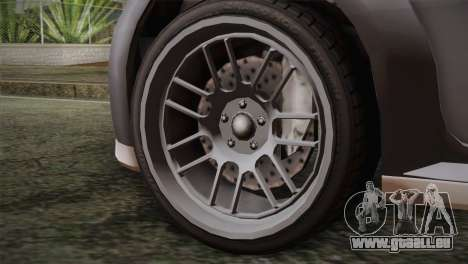 GTA 5 Sentinel pour GTA San Andreas sur la vue arrière gauche