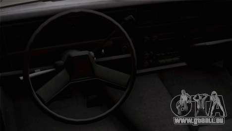 Chevy Caprice Hustler & Flow pour GTA San Andreas vue de droite