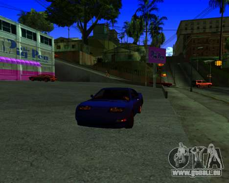 Warm California ENB pour GTA San Andreas deuxième écran