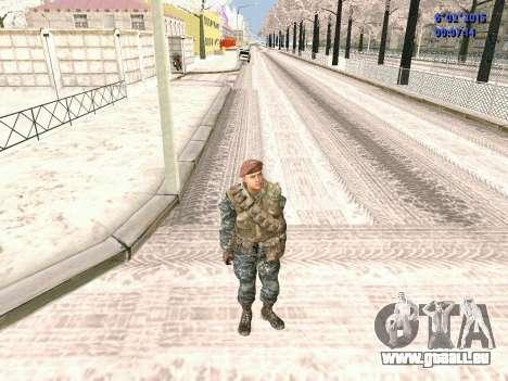 Die besonderen Kräfte der UdSSR CoD Black Ops für GTA San Andreas zweiten Screenshot