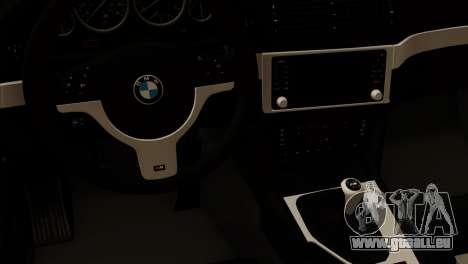 BMW 540 E39 Accuair pour GTA San Andreas vue de droite