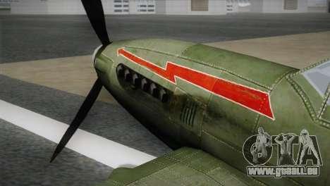 ИЛ-10 de la Marine polonaise pour GTA San Andreas vue de droite