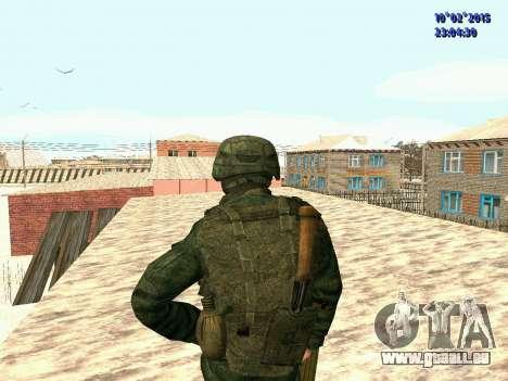 Spetsnaz MVD pour GTA San Andreas troisième écran