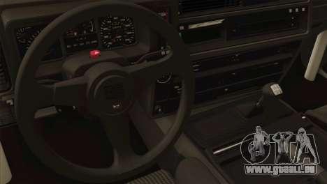 Ford Sierra Sapphire 4x4 RS Cosworth pour GTA San Andreas vue arrière