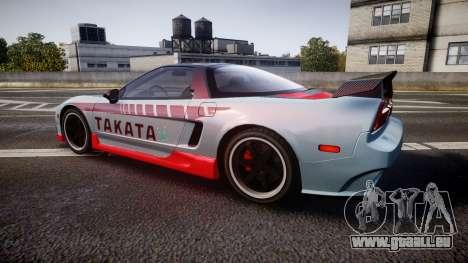 Honda NSX 1998 [EPM] takata pour GTA 4 est une gauche