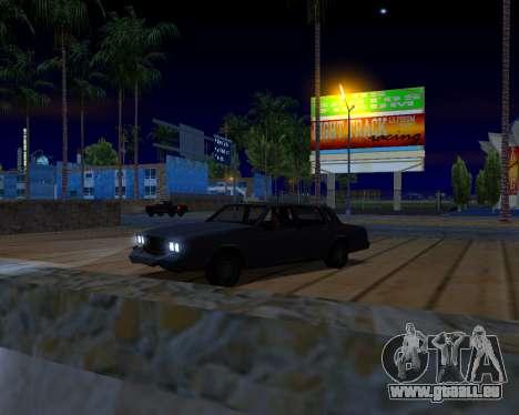 ENB v3.0.0 pour les faibles PC pour GTA San Andreas sixième écran