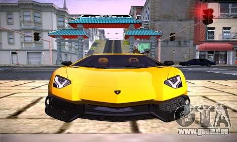 ENB Version v3.1 pour GTA San Andreas deuxième écran